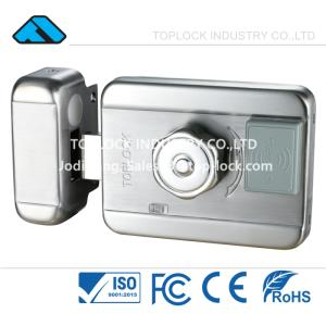 Wholesale rfid card: RFID Electric Lock Gate Intelligent Electronic Lock ICID Card