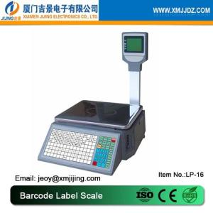 Wholesale scale: LP-16 Barcode Label Scales/ Supermarket Label Printing Scales
