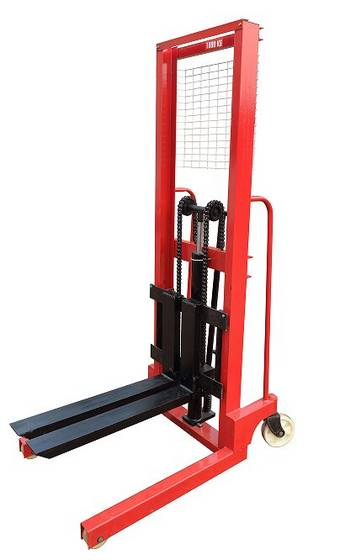 Sell  1 Ton Hydraulic Forklift Hand Pallet Stacker
