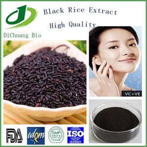 Wholesale black rice: Black Rice Extract  100% Naural