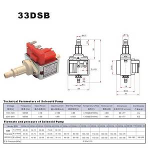 Wholesale steam cleaner: Solenoid Pump for Steam Cleaner