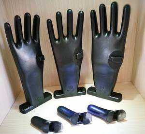 Wholesale safety glove: Glove Casting Mould Mold Hand Mould for Blue Nitrile Gloves with Safety Sleeves