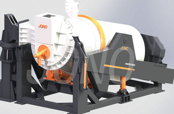 Universal Tilting Rotary Furnace Id 8972095 Product
