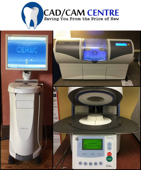 Sell 2009 Sirona CEREC AC Bluecam 2009 MC XL 245 mills Programat CS Oven