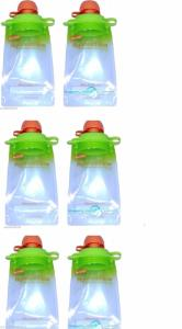 Wholesale food pouch: 6-Pack) Snack Pack Refillable Baby Food Pouch