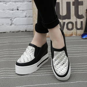 Wholesale spring fashion: Fashion Spring and Autumn High Heel Sneakers Women