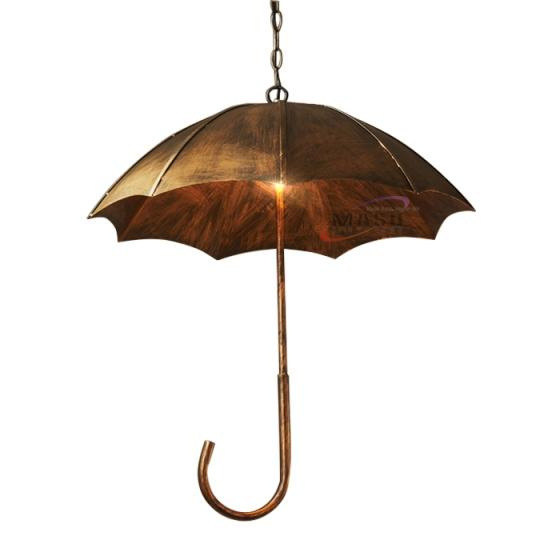 Sell Rusty Umbrella Cover Decorative Chandelier Pendant Light