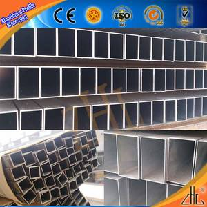 Wholesale 18kg rail price: Hollow Rectangular Aluminium Pipe Square Tubes Factory Price Per Kg