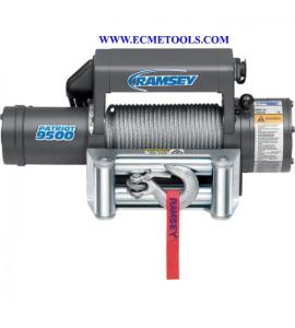 Wholesale winches: Ramsey Patriot Front-Mount 12 Volt DC Powered Electric Truck Winch_9500Lb Capacity_Galvanized Aircra
