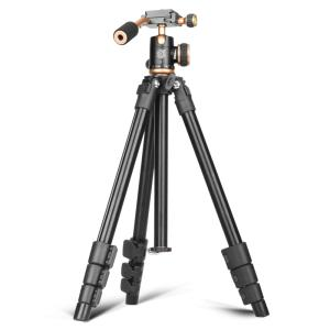Wholesale phone tripod: Q160S Manufacture Camera Mini Tripod Destop Tripod Kit for Phone and and Camer with Handle Head