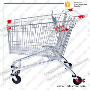 Wholesale hand trolley: Electrolytic Polish Surface 180litre Handing Mobile Trolley