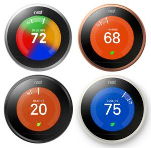 Wholesale home care bed: Original Nest Learning Thermostat 3rd Generation, Works with Google Home and Amazon Alexa