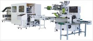Wholesale wet tissues: Automatic Wet Tissue Folding & Packing Machine