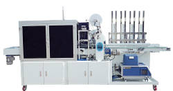 Wholesale label: Automatic Wet Tissue Lid Applicator & Labeler