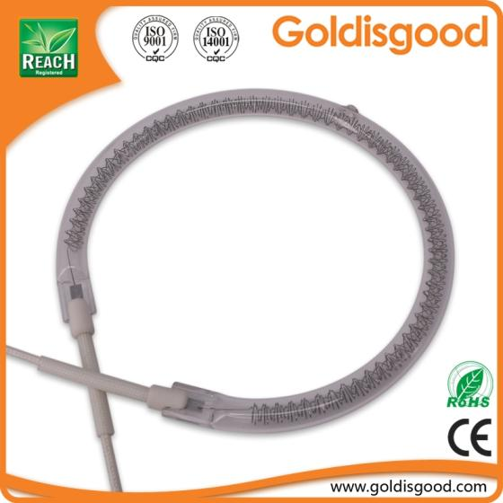 Sell quartz infrared heat lamp halogen heating element for microwave oven