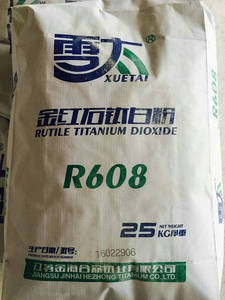 Wholesale titanium dioxide for paint: R608 Rutile Titanium Dioxide for Powder Coating Paint