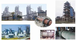 Wholesale construction: 600 - 5000 Tpd Large Dry Process Complete Portland Cement Production Line Plant TurnKey Construction