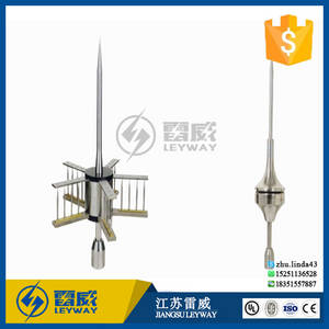 Wholesale Firefighting Supplies: Easy Carry Lightning Protection Systerm Stainless Steel Lightning Rod