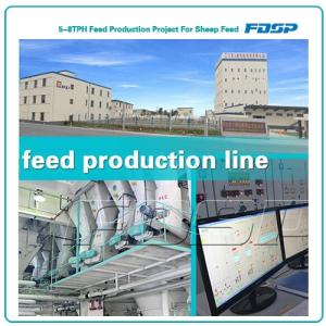 Wholesale rice packaging: 5-8TPH Feed Production Project for Sheep Feed