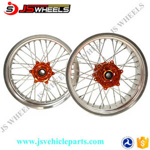 Wholesale dirt bike: 250CC Dirt Bike KX125 KX250 KXF450 Aluminum Alloy Spoked Wheels