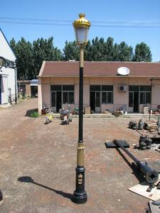 Wholesale Lamp Poles: Cast Iron Garden Lamp Pole
