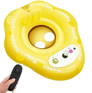Wholesale baby toy ride: Funny Baby Gift Inflatable Swimming Pool Float with Dual Motors