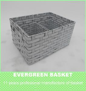 Wholesale pe: PP/PE Storage Basket, Waterproof and Sturdy Structure