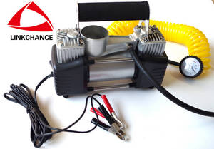 Wholesale tire inflator: Heavy Duty Car Tire Air Inflator Double 30mm Cylinders