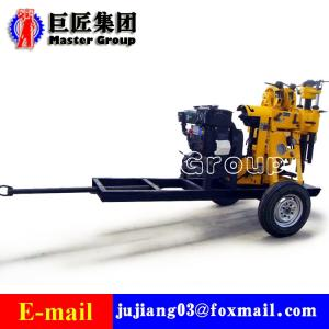 Wholesale boring: Wheel Type XYX-130 Hydraulic Water Well Drilling Rig Portable Mini Bore Well Drilling Machine