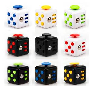 Wholesale magical toys: Factory Wholesale Adult Magic Fidget Cube Relieves Stress Toy Fidget Cube