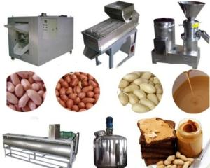 Wholesale peanut butter processing machine: High Efficiency Peanut Butter Making Machine/Peanut Processing Machinery