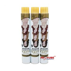 Wholesale oem: OEM Service Aluminum Tubes for Cosmetic Hair Color Cream, Hair Dye Tubes