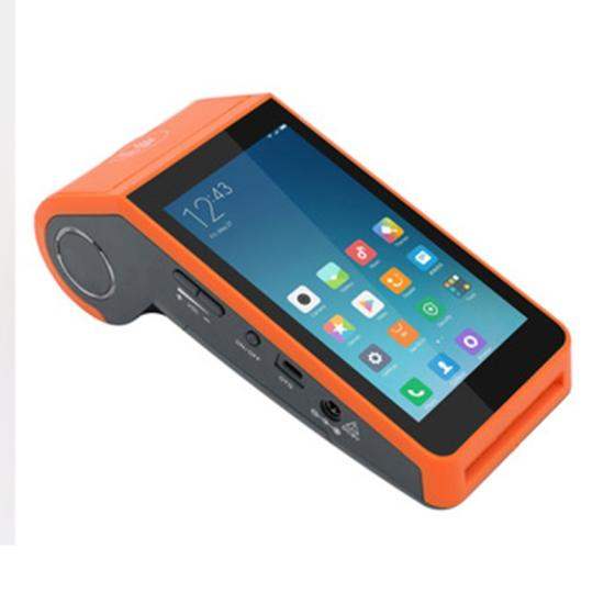 High Quality Android Handheld Pos Terminal with Receipt Printer and 2D Code Scanner