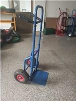 Wholesale hand trolley: Steel Harper Hand Truck Cart Dolly Cosco Shifter Trolley Blue Pneumatic Wheels
