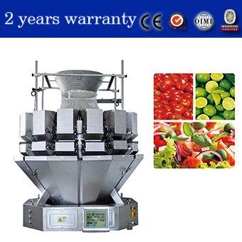 JW-AM14-1-11 Kenwei Enlarge Multihead Weigher for Salad