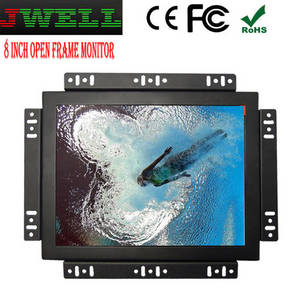 Wholesale lcd touch screen monitors: 8 Inch LCD Display Touch Screen Open Frame Monitor