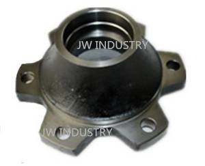Wholesale customized machinery parts: Axle Hub/Arbor Wheel Iron Casting TOYOTA Forklift Parts