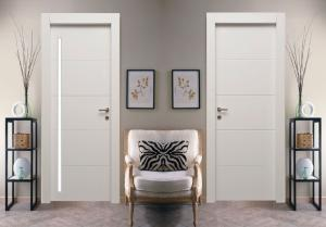 Wholesale Doors: A Painted Laminated Covering WPC Plastic Wooden Composite Door