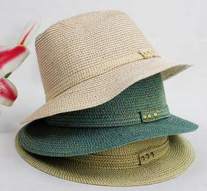 Wholesale cowboy hat: Hot Style Panama Straw Hat / Children Straw Hat