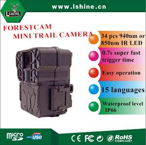 Wholesale infrared thermal camera: 2017 Cheapest Mini Size Hot Selling Hunting Trail Camera