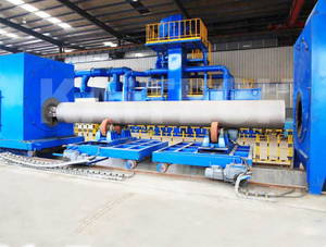 Wholesale induction seals: Steel Pipe Outer Wall Special Shot Blasting Machine