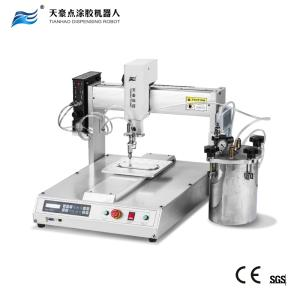 Wholesale epoxy resin potting machine: 3 Axis Automatic Dispensing Robot with Precision Valve Dispensing TH-2004D-300KJ