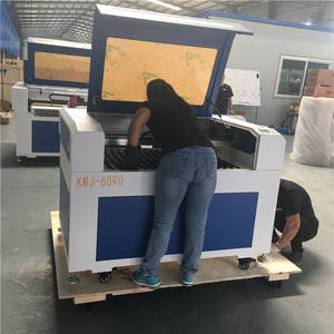 Wholesale iron sheet making machine: KMJ-1390 1300*900mm Laser Cutting Machine