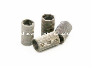 Wholesale cylinder tube: Cylinder Stainless Steel Micron Wire  Mesh Filter Tubes