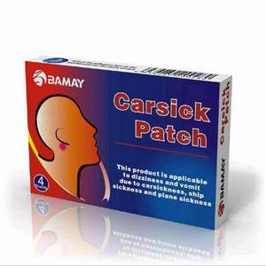 Wholesale old ginger: Carsick Patch