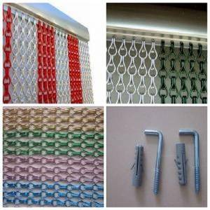 Wholesale Curtain: Hanging Metal Drapery Chain Link Insect Fly Screen