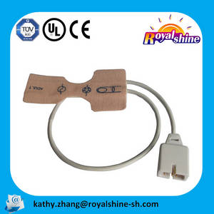 Wholesale medical cable: Adhesive Medical Disposable SPO2 Sensor Cable