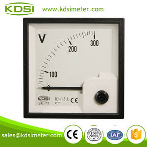 Wholesale Voltage Meters: 20 Years Professional Manufacturer BE-72 AC300V Panel Analog Voltmeter