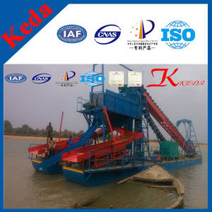 Wholesale sand barge: Gold Mining Dredger,Gold Bucket Dredger