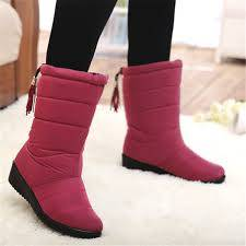 Wholesale plush fabric: ladies Winter Shoes